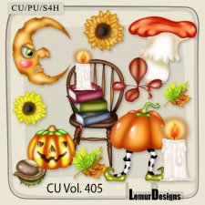 CU Vol 405 Halloween by Lemur Designs
