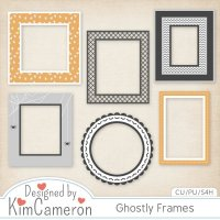Ghostly Frames by Kim Cameron