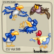 CU Vol 506 Birds by Lemur Designs