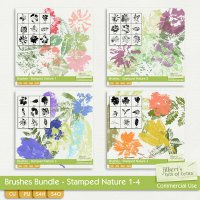Brushes Bundle - Stamped Nature 1-4
