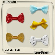 CU Vol 828 Bows by Lemur Designs