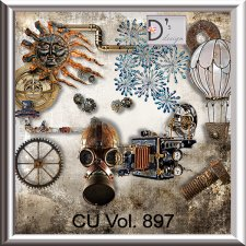 Vol. 897 - Steampunk Mix by Doudou's Design