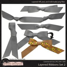 EXCLUSIVE Layered Ribbons Set 2 by NewE Designz