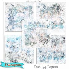 Pack 94 papers by Kastagnette