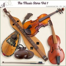 The Music Shoppe Vol 1 by ADB Designs