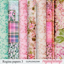 REGINA PAPERS 3 FolK by reginafalango