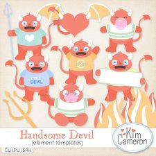 Handsome Devil Templates by Kim Cameron