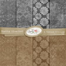 Shabby Bleached Overlays Lilmade Designs