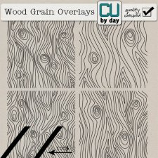 Wood Grain Overlays