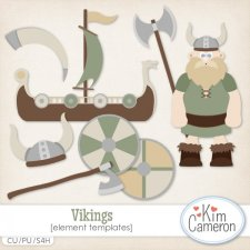 Vikings Templates by Kim Cameron