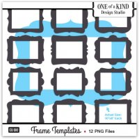 12 Frame Templates