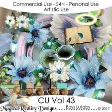 Childs Lullaby - CU Vol 45 Bundle by MagicalReality Designs