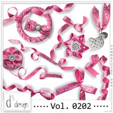 Vol. 0202 - Ribbons Mix by Doudou's Design
