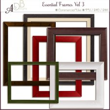 Essential Frames Vol 03 by ADB Designs