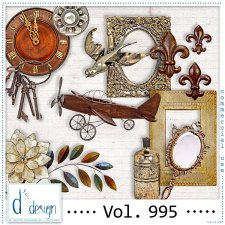 Vol. 995 Vintage Mix by Doudou Design