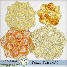 Delicate Doilies Vol 2 Elements by ADB Designs