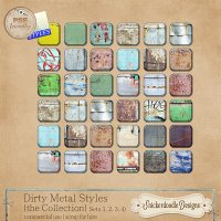 Dirty Metal Styles {the Collection} {CU/S4H} by SnickerdoodleDesigns