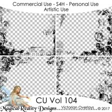 Victorian Overlays - CU Vol 104 by MagicalReality Designs