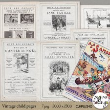 Vintage child pages