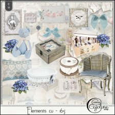 Elements CU - 165 Home Sewing Decor by Cajoline-Scrap