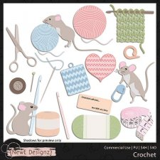 EXCLUSIVE Layered Crochet Templates by NewE Designz
