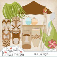 Tiki Lounge by Kim Cameron
