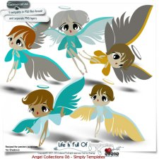 Angels Collections06 Simply Templates