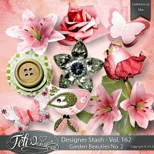 Designer Stash Vol 162 - Garden Beauties No. 2 - by Feli Designs