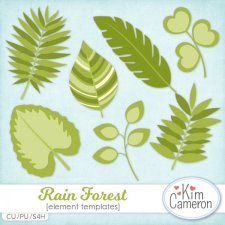 Rain Forest Templates by Kim Cameron