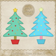Christmas Tree Photoshop Action 5 by Josy