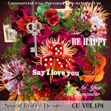 Be Happy CU Vol 174 by MagicalReality Designs