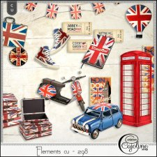 Elements CU - 298 London Travel (2) by Cajoline-Scrap