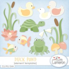 Duck Pond Templates