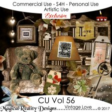 Vintage Love - CU Vol 56 EXCLUSIVE by MagicalReality Designs