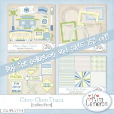 Choo-Choo Train Collection by Kim Cameron
