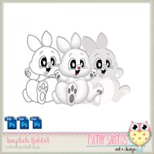 Template Rabbit by Pathy Design