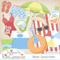 Wear Sunscreen by Kim Cameron