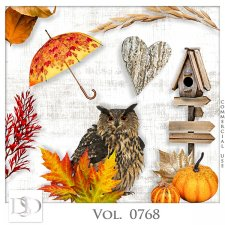 Vol. 0768 Autumn Nature Mix by D's Design