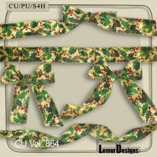 CU Vol 864 Ribbons by Lemur Designs