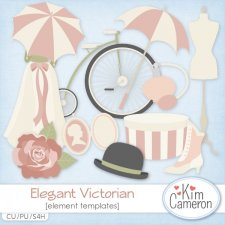 Elegant Victorian Templates by Kim Cameron
