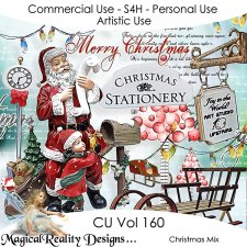 Christmas Mix - CU Vol 160 by MagicalReality Designs