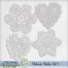 Delicate Doilies Vol 1 Elements by ADB Designs