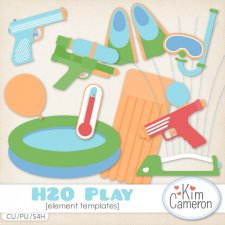 H2O Play Templates by Kim Cameron