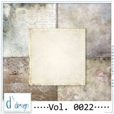 Vol. 0022 - Vintage papers - by Doudou's Design