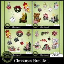 Christmas bundle 1 Elements (CU)
