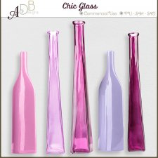 Chic Glass Elements by ADB Designs