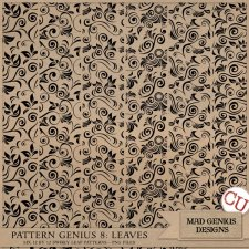 Pattern Genius Paper Volume Eight by Mad Genius Designs