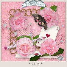CU set 73 Mix elements Love by MLDesigns
