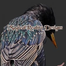Painted Birds - CU Vol 140 by MagicalReality Designs