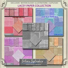 EXCLUSIVE Lacey Paper Collection by Silver Splashes